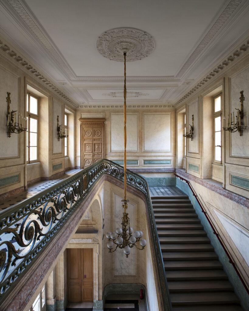 Hôtel de la Marine, escalier d'honneur