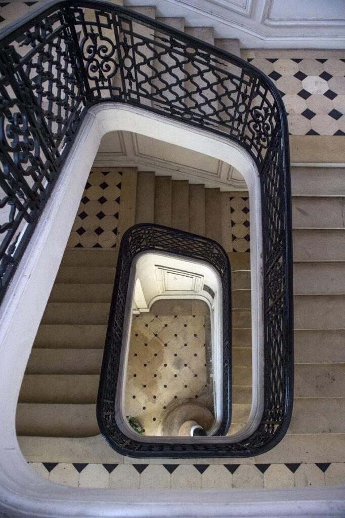 Hotel de la Marine, Escalier de l'Intendant