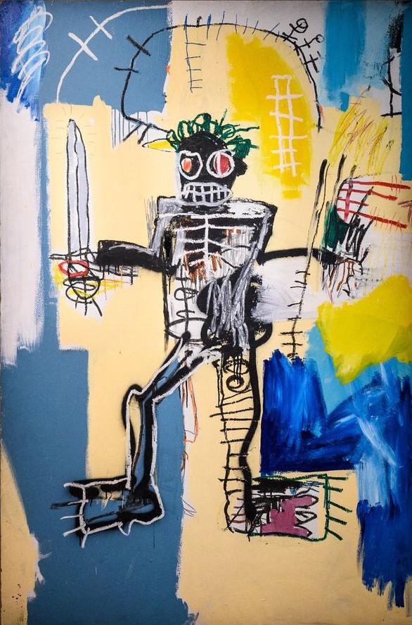 Warrior, Basquiat (1982)