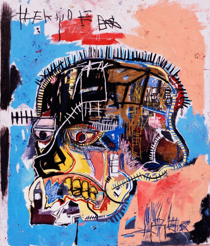 Untitled / Skull, Basquiat (1981)