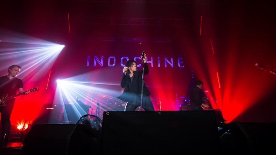 Concert d'Indochine au Trianon, 2015