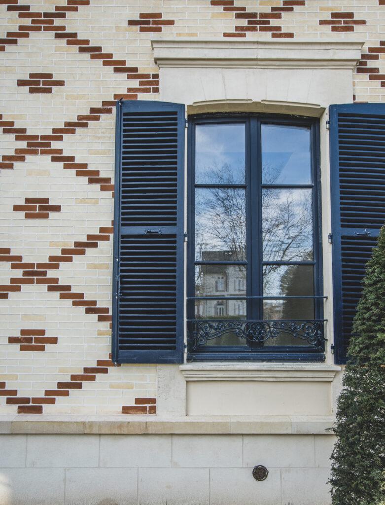 Détail façade Villa du Temps retrouvé