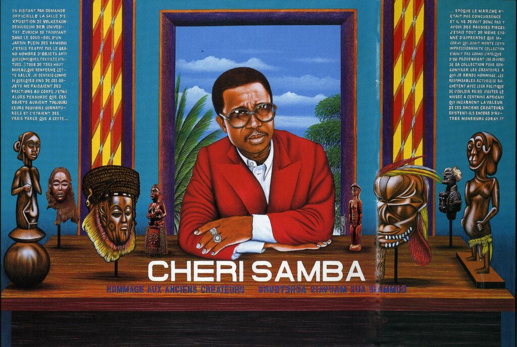 Hommage aux anciens créateurs, Chéri Samba