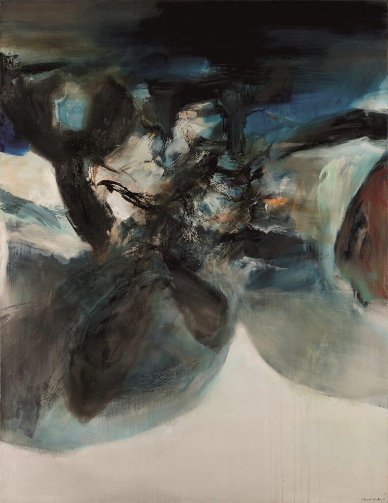 01.10.73, Zao Wou-Ki, 1973