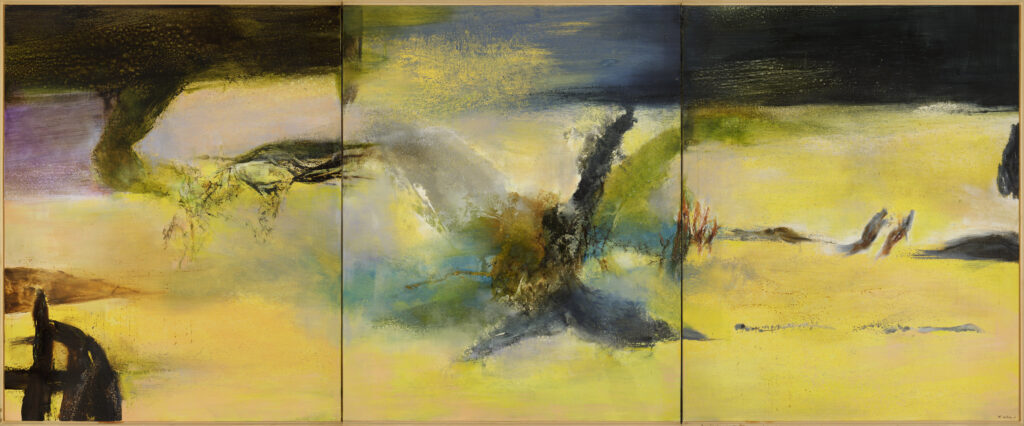 Hommage à Henri Matisse, Zao Wou-Ki, 1986