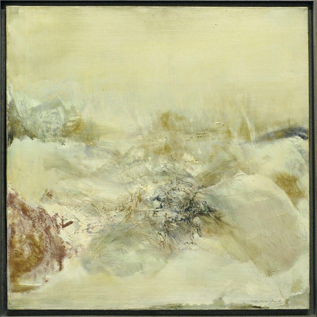 Hommage à Turner, Zao Wou-Ki, 1975