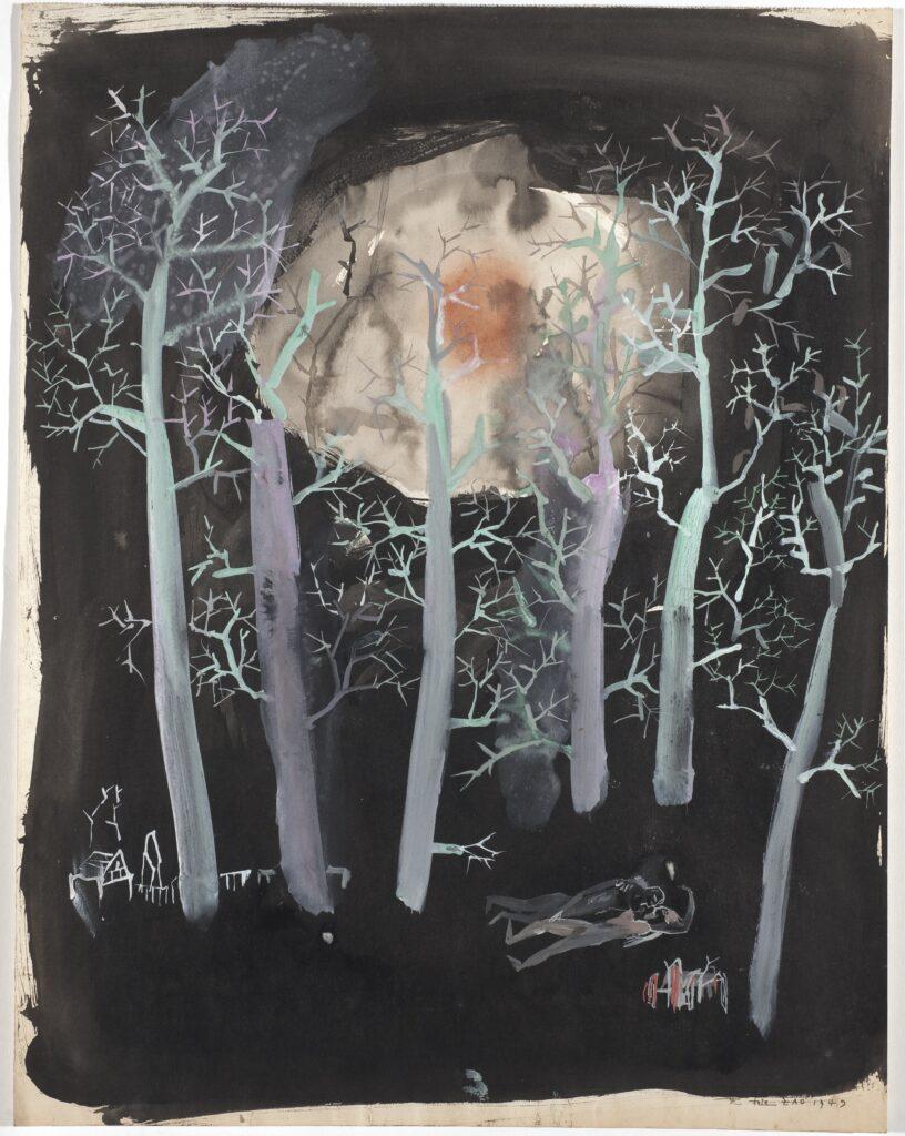 Sans titre, Zao Wou-Ki, 1949
