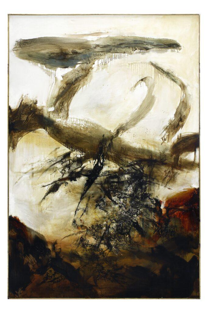 06.10.71, Zao Wou-Ki, 1971.