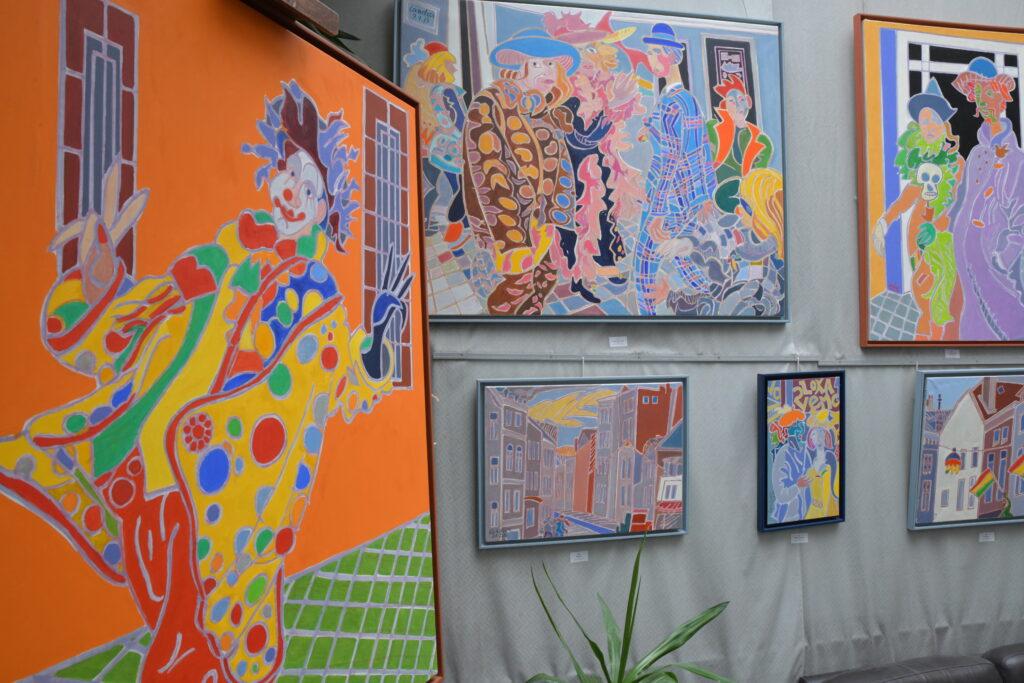 Vue de l'exposition Le Carnaval de Maastricht de Landier