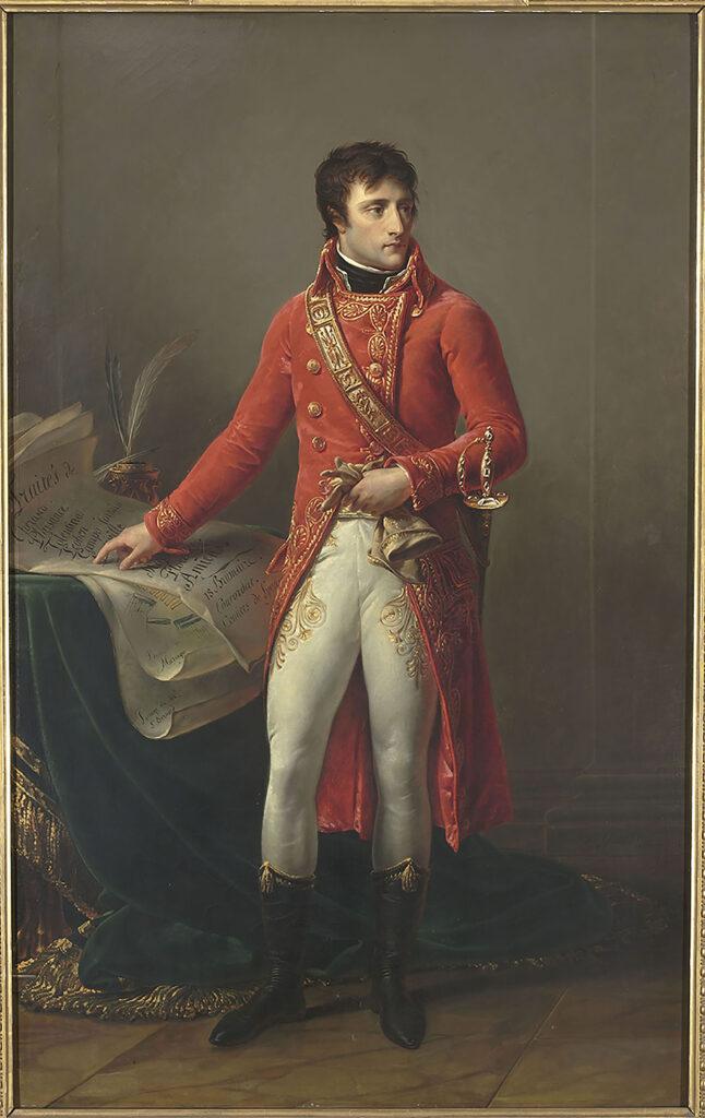 Exposition l'Epopée napoléonienne, Antoine-Jean Gros, baron, Bonaparte en Premier Consul, 1802