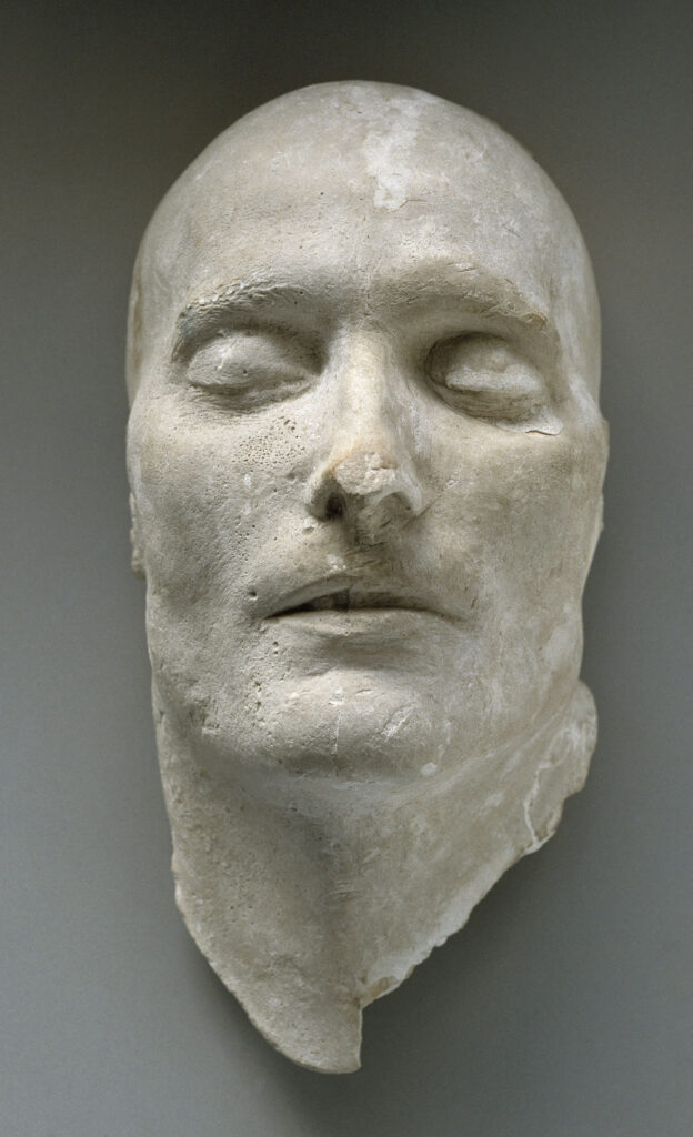 Antommarchi Carlo Francesco, Masque mortuaire de Napoléon