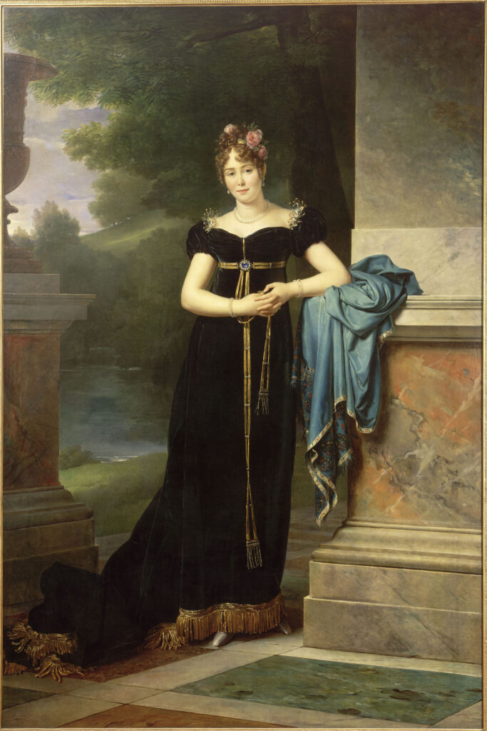 François Gérard, Marie Laczinska, comtesse Walewska, puis comtesse d'Ornane (1789-1817), vers 1810