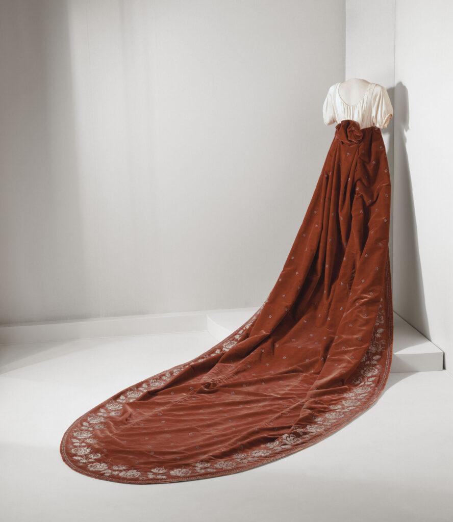 Manteau de cour de l'impératrice Joséphine
