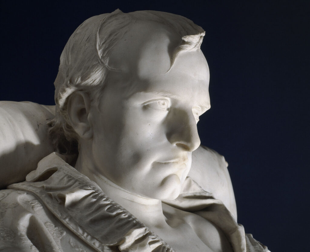 Vincenzo Vela, Les derniers moments de Napoléon Ier à Sainte-Hélène, 1866