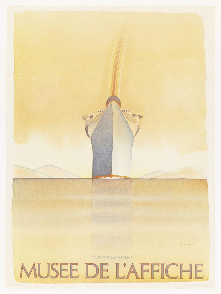 Exposition les affiches de Folon Fondation Folon Musée de l'Affiche