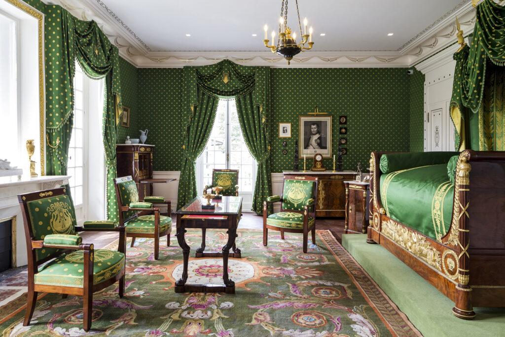Martin Guillaume Biennais, Chambre à coucher, ensemble mobilier de la maison Caillebotte à Yerres,