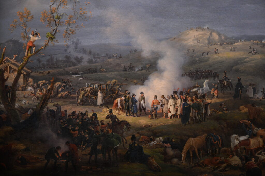 Vue de l'exposition Napoléon à la Villette