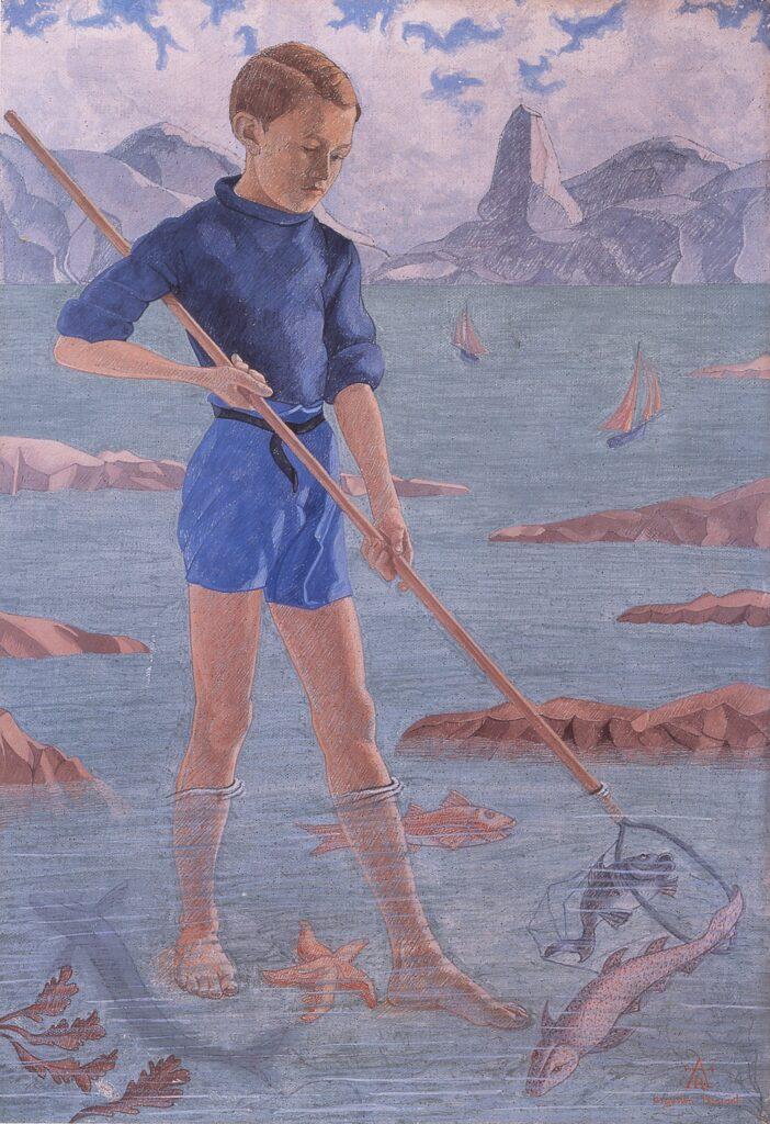 Augustin Rouart, Adolescent sur la plage (1943)