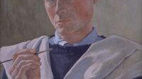 Exposition_Petit Palais_Augustin_Rouart_Autoportrait au pinceau