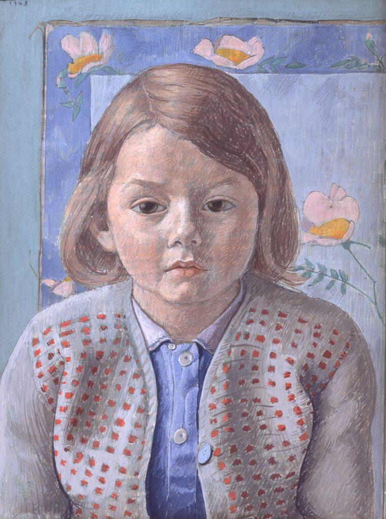 Augustin Rouart, Portrait au gilet rouge (1948)