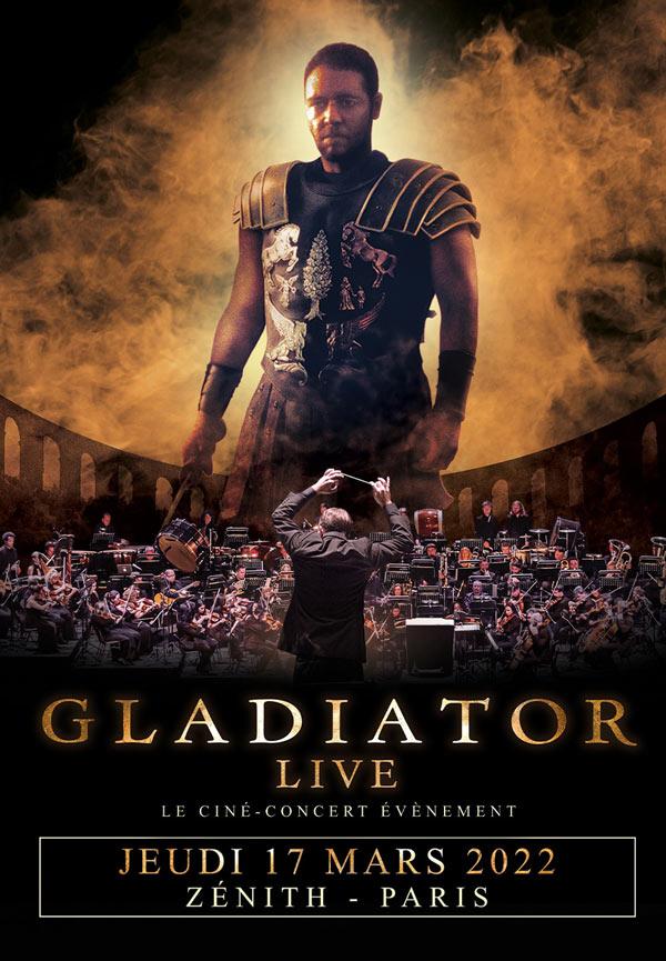 Affiche Ciné-Concert Gladiator