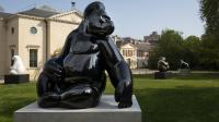 jardin des plantes - Sculpture - Michel Bassompierre - Fragiles Colosses - Le Dominant n°5 - Gorille de l'ouest - Gorilla gorilla