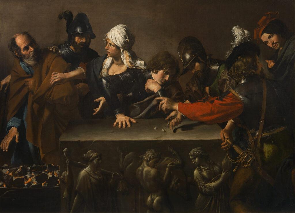 Valentin de Boulogne, Reniement de Pierre, vers 1615-1617