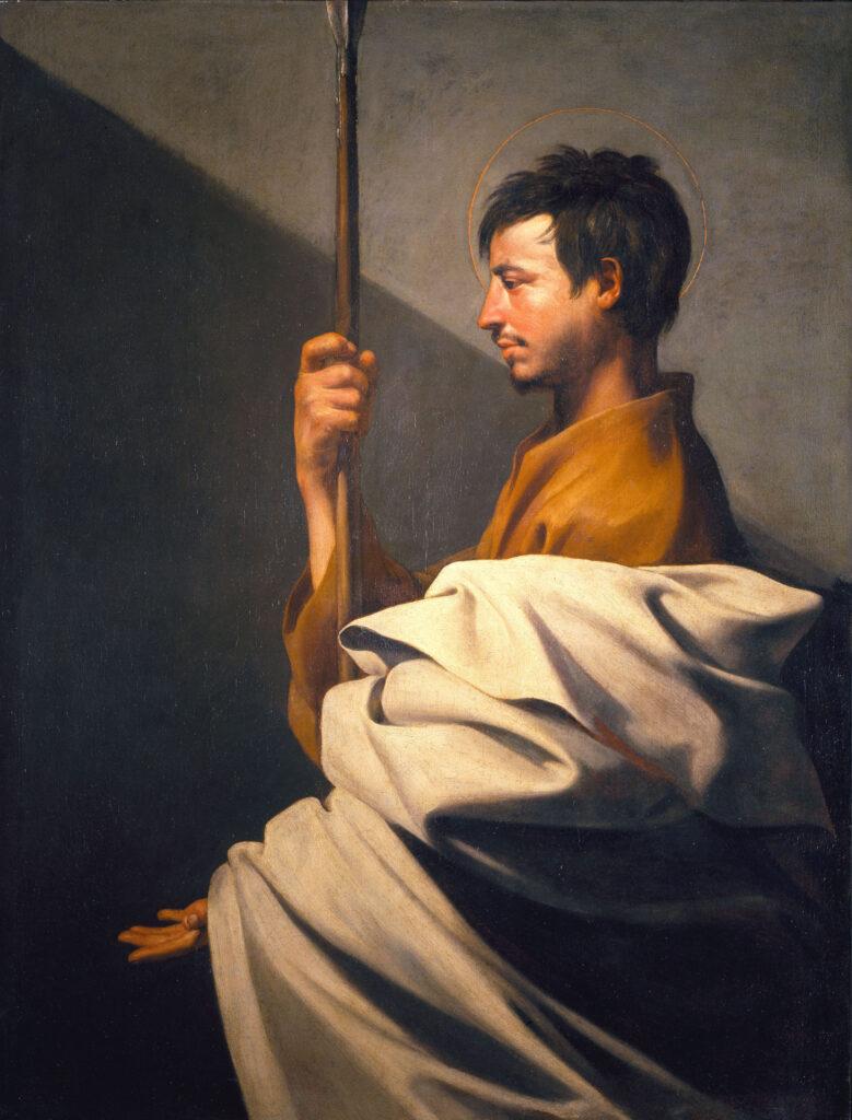 Jusepe de Ribera, Saint Thomas, vers 1612