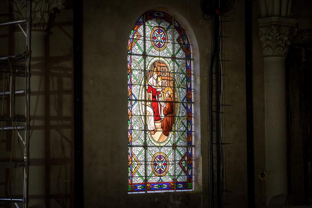 Les Franciscaines - Vitrail La Chapelle 2