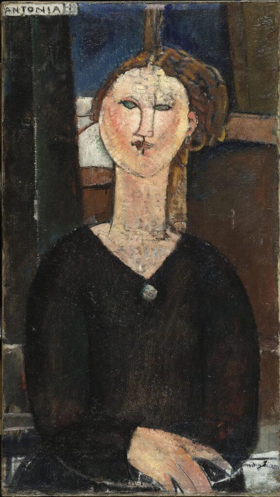 Amadeo Modigliani, Antonia, vers 1915