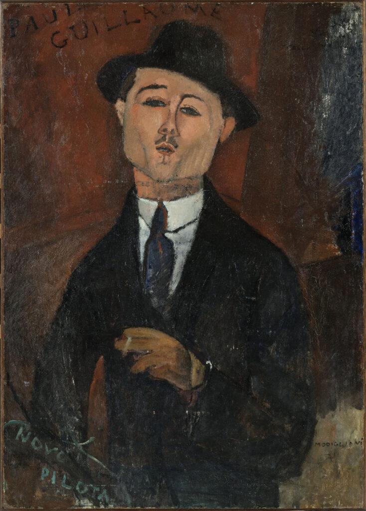 Amadeo Modigliani, Paul Guillaume - Novo Pilota, 1915