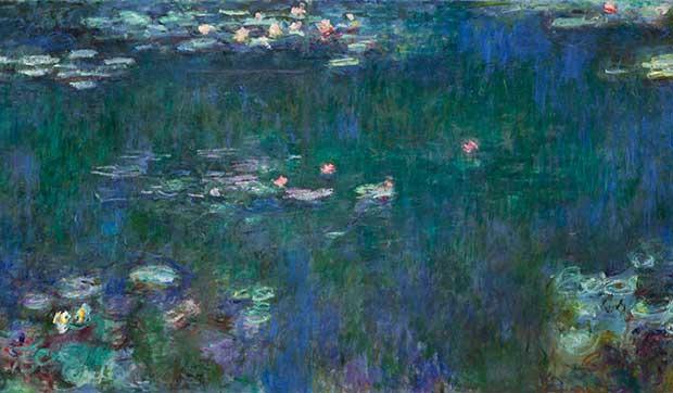 Monet, Nymphéas