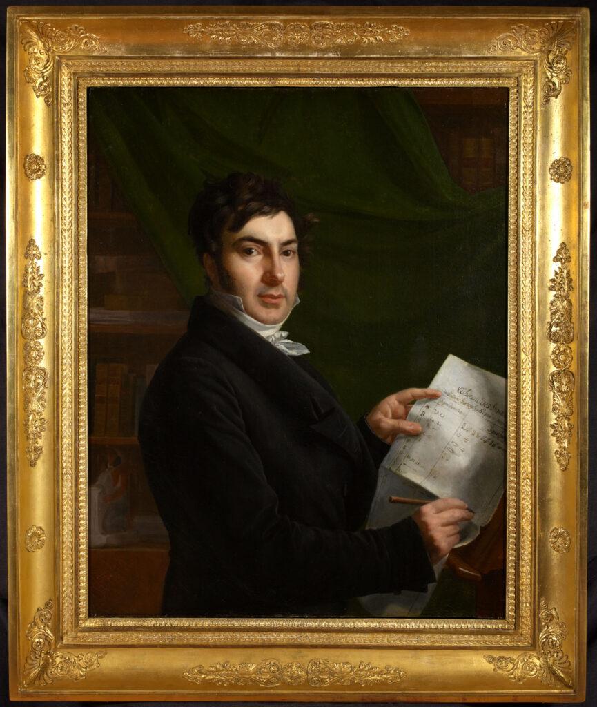 Madame de Rumilly, Jean-François Champollion, 1823
