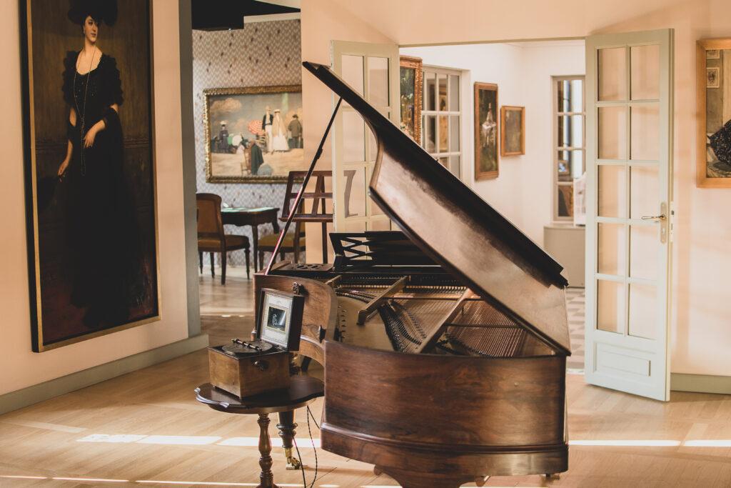 Salon de musique - Villa du Temps retrouvé