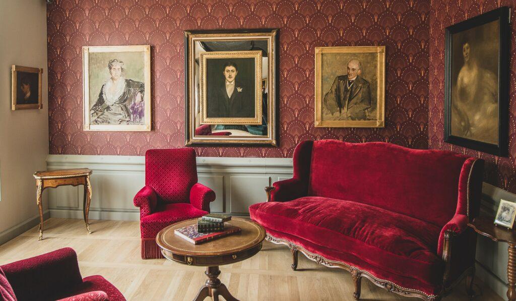 Salon de réception - Villa du Temps retrouvé
