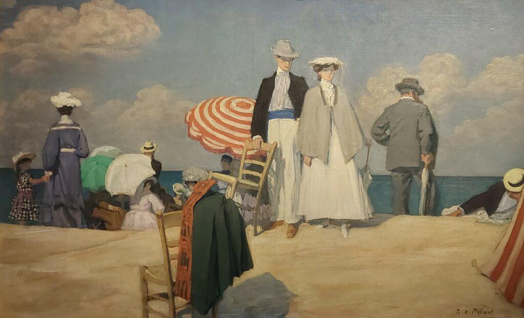 René-Xavier Prinet, La plage de Cabourg