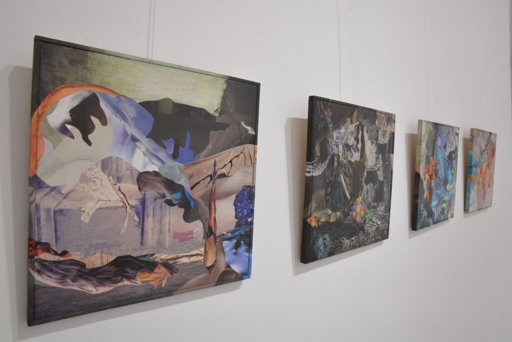 Vue du Salon des Beaux Arts à l'Espace Froissart