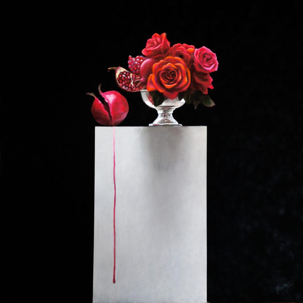 7e Salon Art Résilience Saint-Frajou 2021-Natalya_Zhadenova_Juce_Pastel on Velvet_80[80 cm_2020