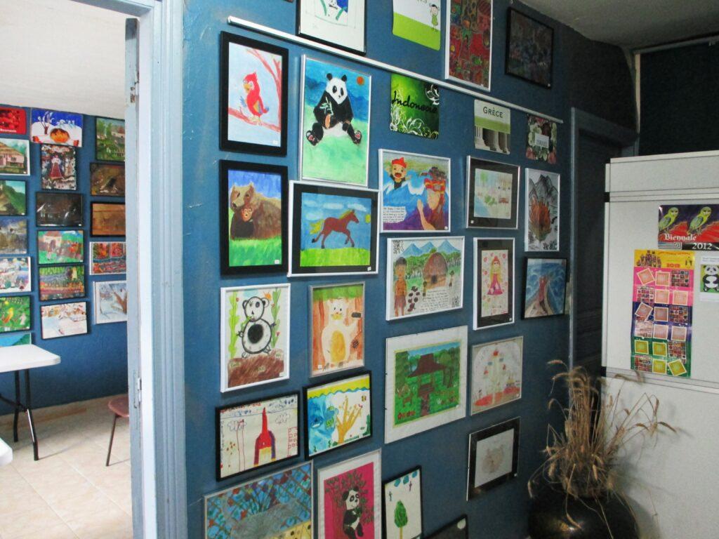 Pinacothèque de peinture d'enfants du musée de peinture de Saint-Frajou