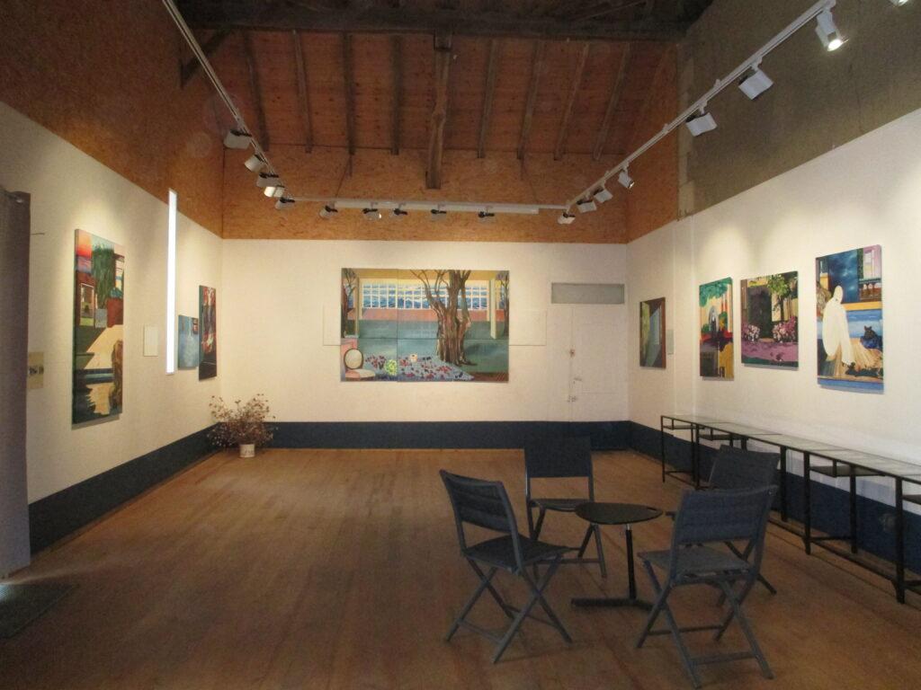 Salle collection permanente N°2 du musée de peinture de Saint-Frajou