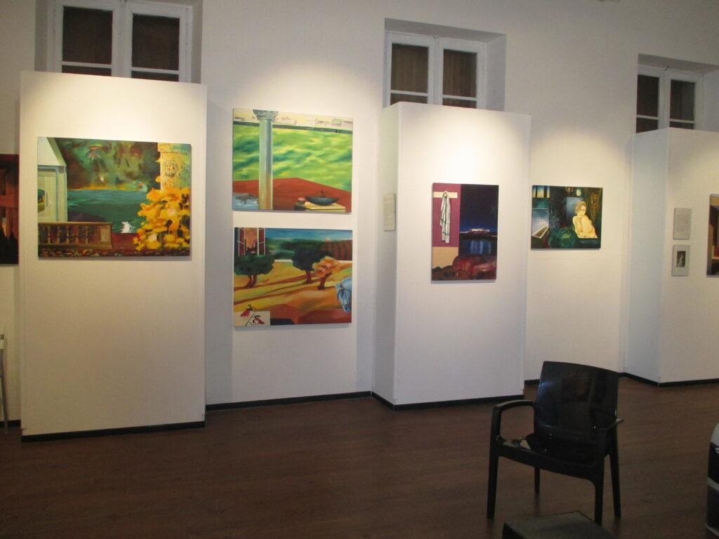 Salle permanente N°1 du musée de peinture de Saint-Frajou