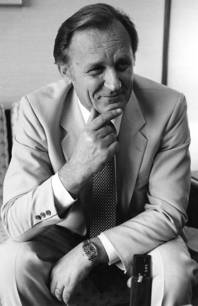 Albert Uderzo à Auckland, Nouvelle Zélande, 1982