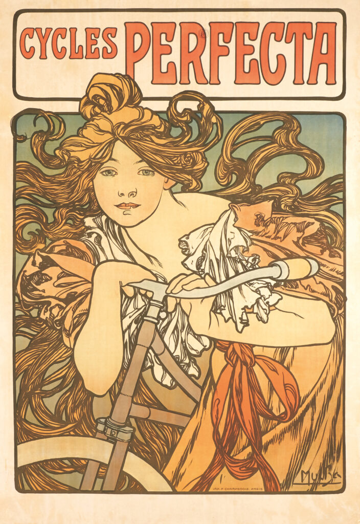 Alphonse Mucha,, Cycles Perfecta, 1902