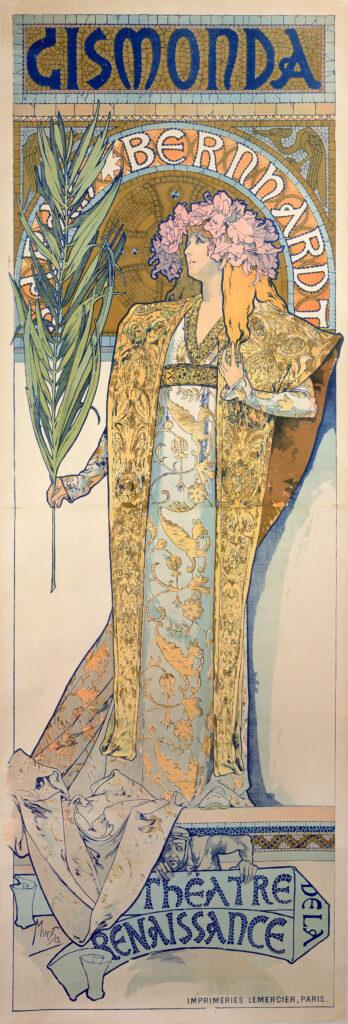 Alphonse Mucha, Gismonda, 1894