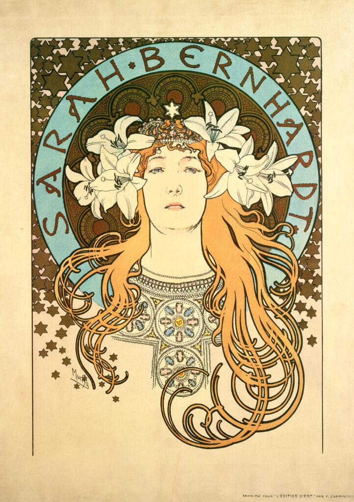 Alphonse Mucha, La Plume, 1897