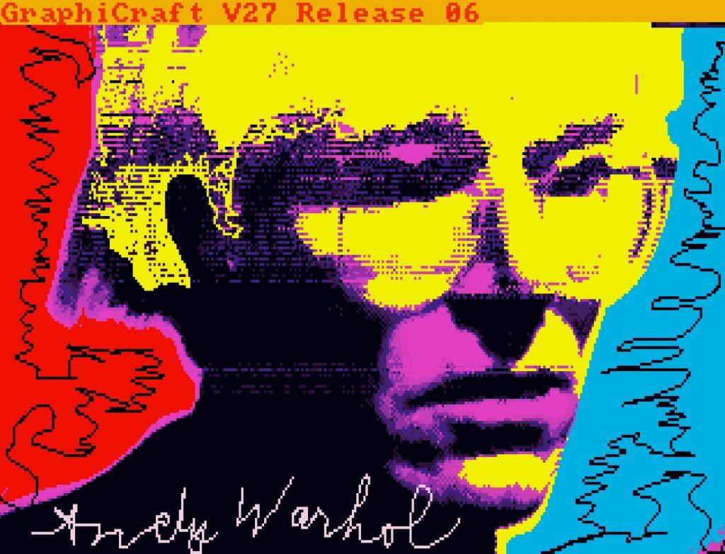 Andy Warhol, Untitled (Self-Portrait)