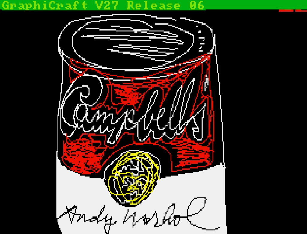 Andy Warhol, Untitled (Campbell's Soup Can)