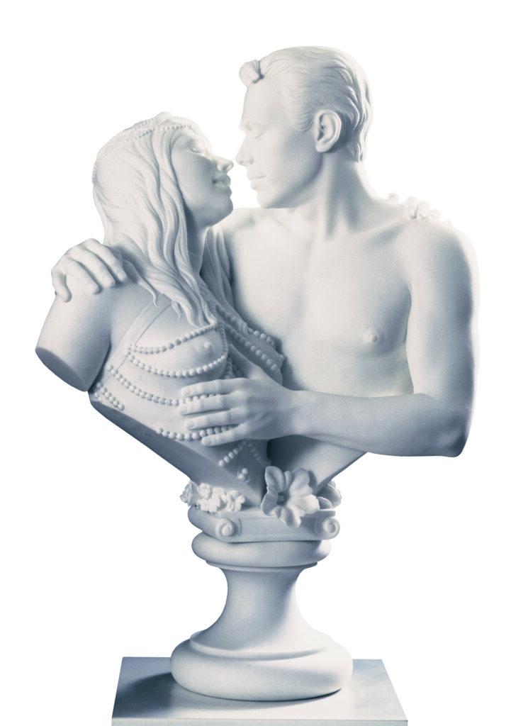 Jeff Koons, Bourgeois Bust - Jeff and Ilona, 1991
