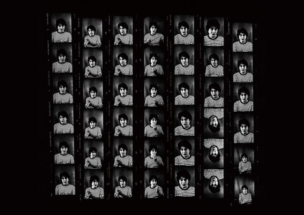 Daidō Moriyama, Autoportrait, de la série « Labyrinth », 2012