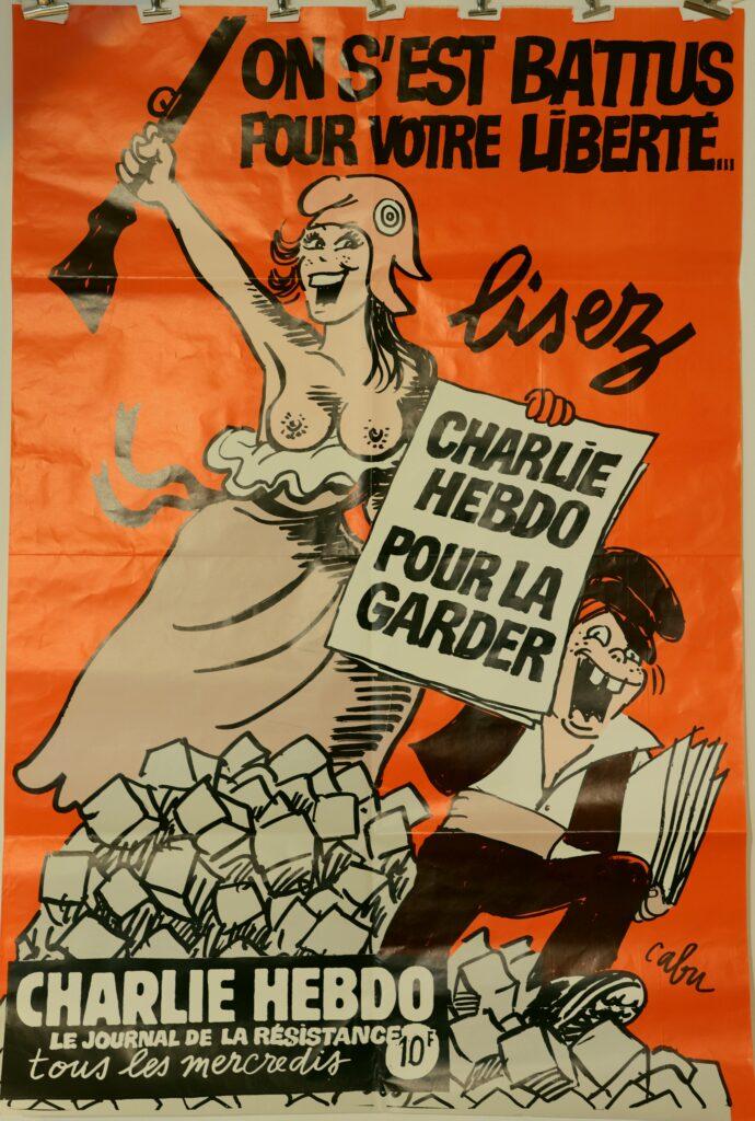 Cabu, Couverture de Charlie Hebdo